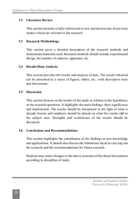 phd thesis requirements uitm thesis guidelines 2013