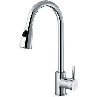 overstock faucets kitchen vigo chrome pull out spray kitchen faucet