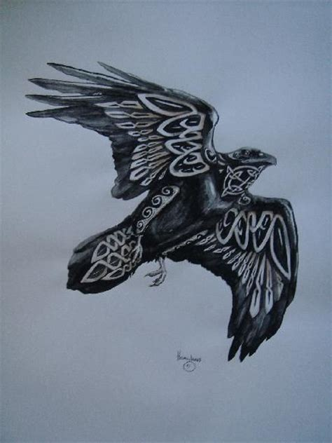 celtic raven tattoo 12 amazing norse designs