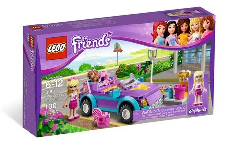 Lego Friends Auto by Brick Friends Lego Friends 3183 Stephanie S Cool Convertible