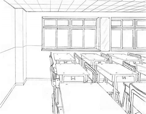 interior drawing one point perspective drawing the ultimate guide