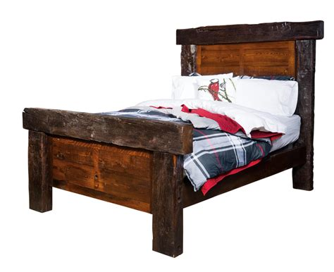 Timber Frame Bed Timber Frame Bed Amish Furniture Mankato Mn