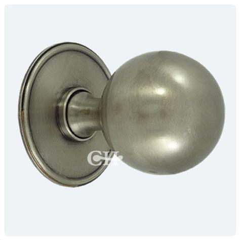 Antique Nickel Door Knobs by 6405 Centre Door Knobs In Chrome Or Nickel From Cheshire Hardware Door Handles