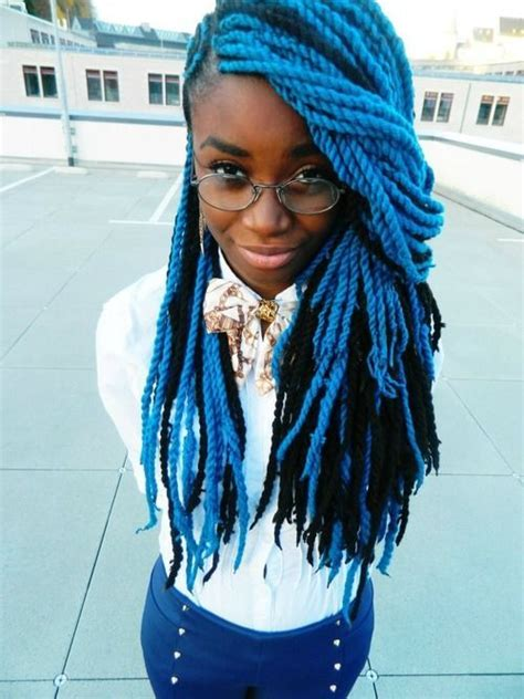 dark blue marley hair hair colour ideas tumblr