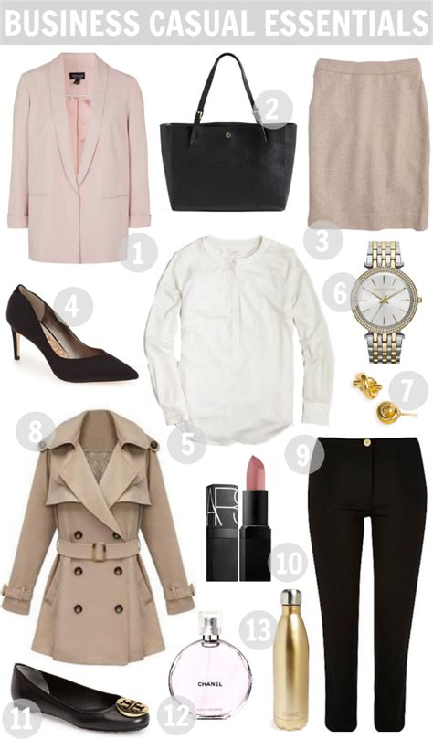 Business Wardrobe Essentials by Work Wear Business Casual Essentials A Mix Of Min