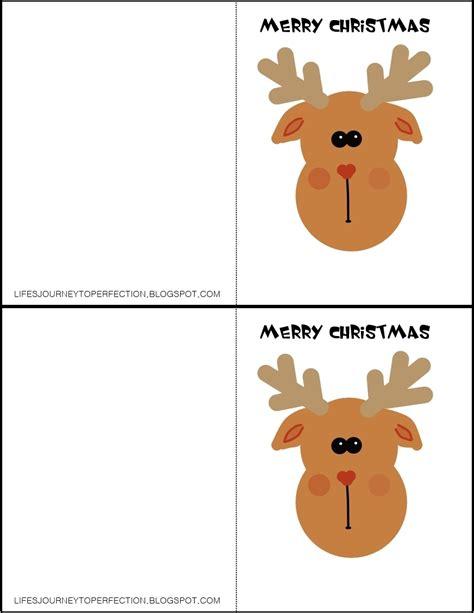 printable reindeer gift tags life s journey to perfection homemade christmas ideas