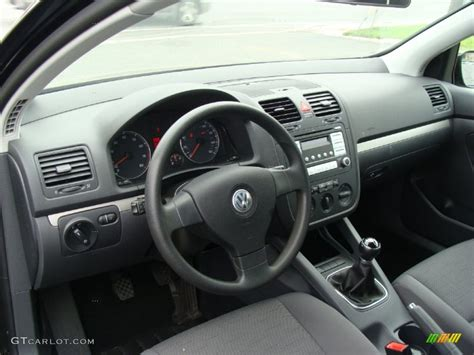 volkswagen rabbit interior anthracite interior 2009 volkswagen rabbit 2 door photo