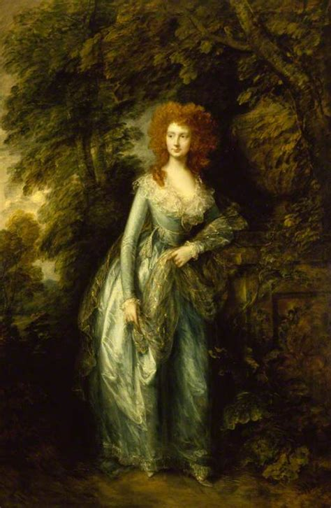 gainsborough a portrait thomas gainsborough portrait of a lady possibly elizabeth white mrs hartley c 1786 7 at