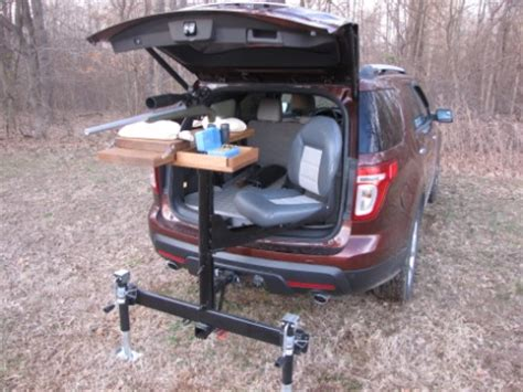 hitch bench self made trailer hitch shooting bench the firearm