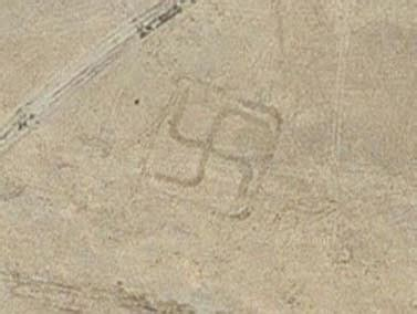 over 50 ancient geoglyphs, including swastika, discovered