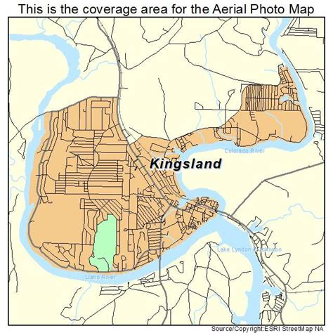 map of kingsland texas aerial photography map of kingsland tx texas
