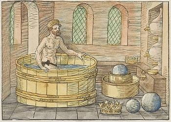 archimedes bathtub story archimedes and the bathtub 28 images the web of