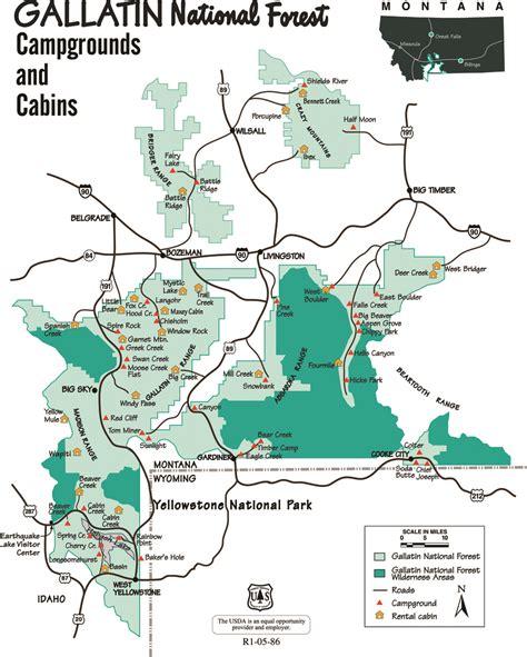 bozeman mt map maps outside bozeman