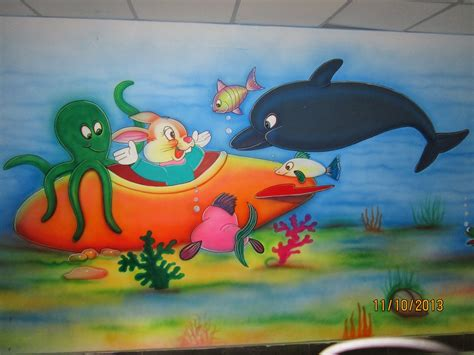 painting for free to play play school wall painting school wall painting