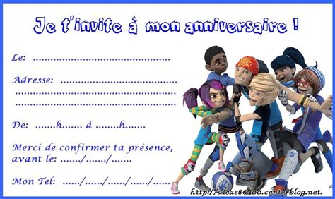 Cartes Invitations Foot 2 Rue Extreme