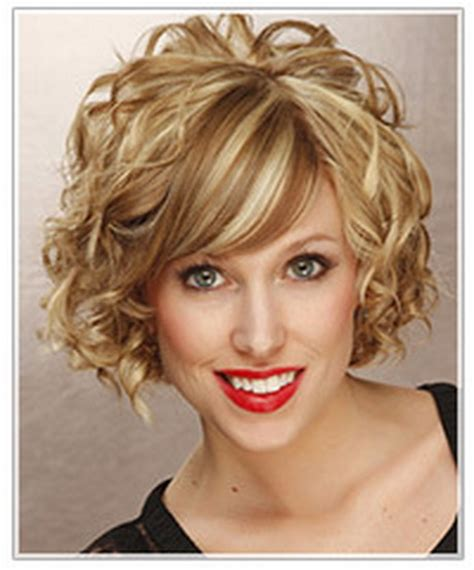 curly hairstyles oval face shape short curly hairstyles for oval faces