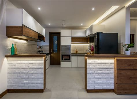 open kitchen layout   indian homes