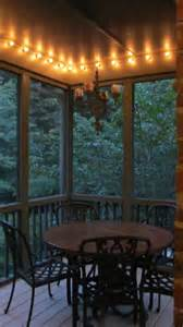 porch string lights screened porch makeover for less than 500 family savvy
