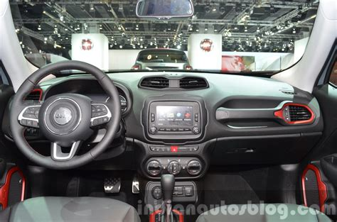 jeep dashboard 2015 jeep renegade trailhawk dashboard at the iaa 2015