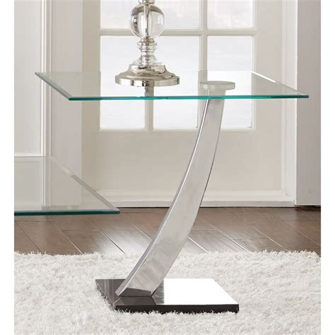 modern accent table modern glass contemporary end accent side table entryway