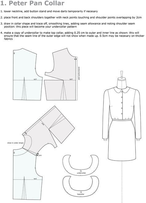 Pattern Drafting Peter Pan Collar | pattern cutting house of jo