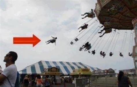 amusement park swing accident physics of a fake broken swing image wired