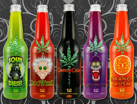 weed drinks about canna cola the world s most well known brand of