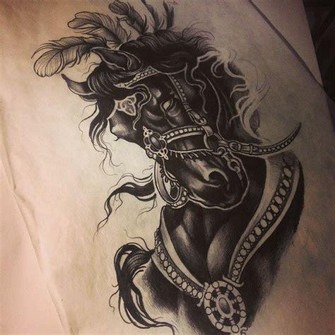 dark horse tattoo best 25 ideas on black horses