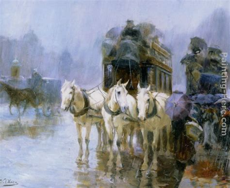 A Painting A Day by Ulpiano Checa Y Sanz A Rainy Day Painting Anysize 50