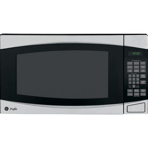 Ge Microwave Countertop by Shop Ge Profile 2 Cu Ft 1 200 Watt Countertop Microwave
