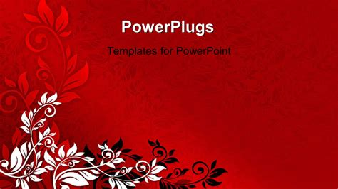 powerpoint templates black and red www pixshark com