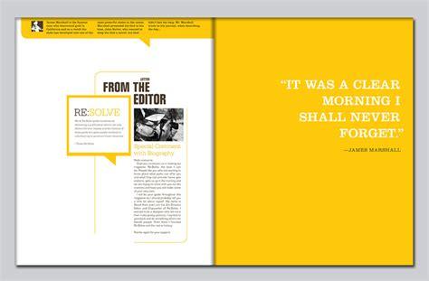 layout maker for magazine david hunt design re solve magazine