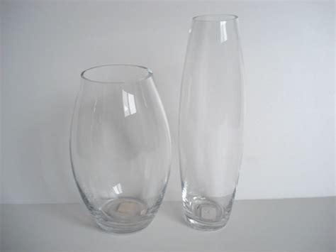 china glass vase glass candle holder and container