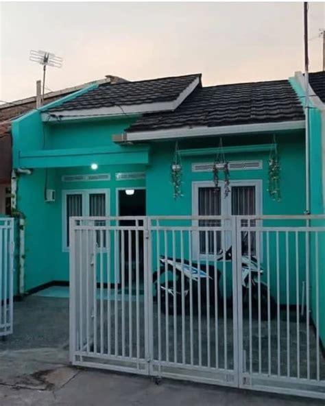perpaduan cat rumah warna hijau tosca content