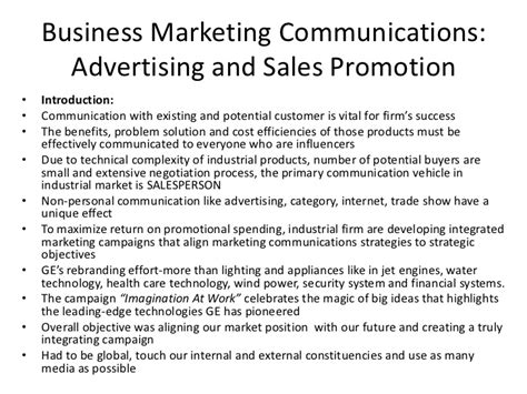 Sales Promotion Letter In Business Communication Advertising And Sales Promotion