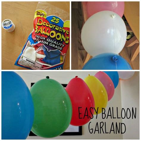 Balloon Simple Decoration by Best 25 Small Birthday Ideas On Small