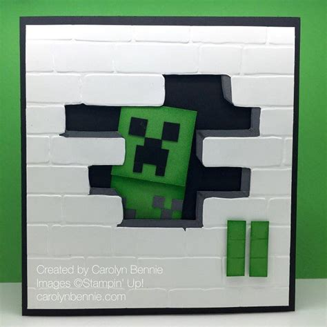 Minecraft Handmade - 46 best birthday cards images on