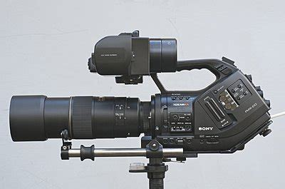 how to use the z finder as a viewfinder for the sony ex1