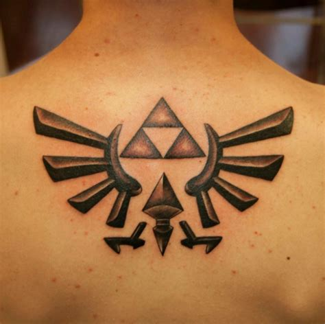 triforce tattoo designs 20 tattoos of quot legend of that are extremely awesome