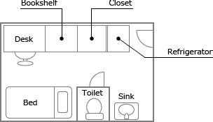 room map single type room floor map ritsumeikan asia pacific
