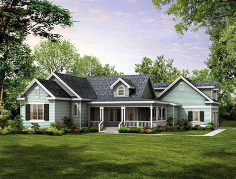 one story farmhouse plans house plan 90277 at familyhomeplans