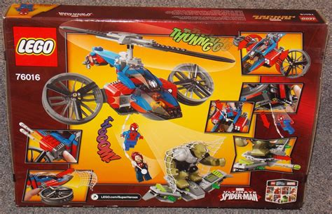 Lego 76016 Spider Helicopter Rescue Lego Spider Helicopter Rescue 76016 Spider Ultimate