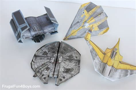 Paper Craft Wars - wars paper crafts to make frugal for boys and