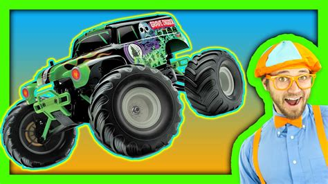 Monster Trucks For Children Youtube