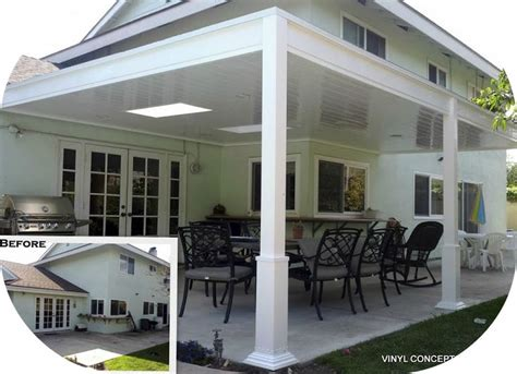 Aluminum Covered Patios by Advantages Of Vinyl Patio Covers Aluminum Http