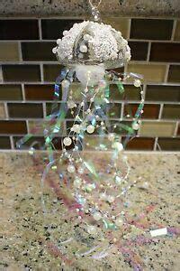 mercury ornament jellyfish new pottery barn pearl tinsel jellyfish ornament ebay