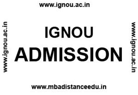 Mba Distance Learning Ignou Vs Symbiosis by Ignou Admission Jan 2018 Bdp Ba Ma M Mba