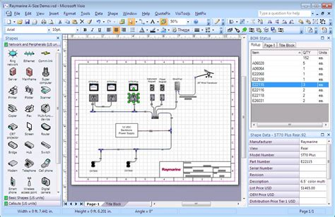 visio title block template customizing the title block in visimation quotepix visiozone