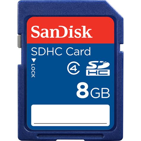 Memory Card Sand Disk 8gb sandisk 8gb sdhc memory card walmart