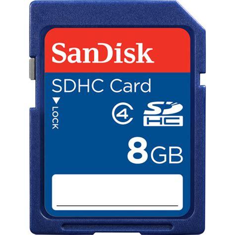 Memory Card 8gb Sandisk Sandisk 8gb Sdhc Memory Card Walmart